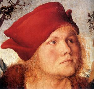 Lucas Cranach The Younger - Portrait of Johannes Cuspinian d -