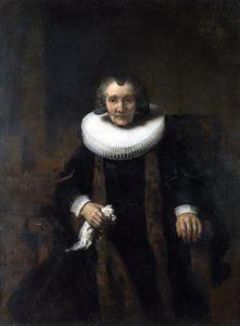 Portrait of Margaretha de Geer, Wife of Jacob Trip