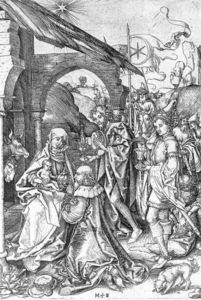 Martin Schongauer - Adoration of the Magi