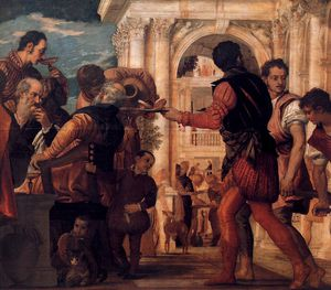 Paolo Veronese - Wedding at Cana (detail)3