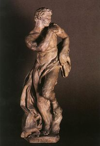Pierre Puget - The faun terracotta