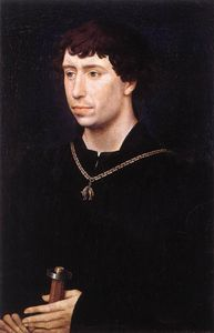 Goswijn Van Der Weyden - Portrait of Charles the Bold c.1460