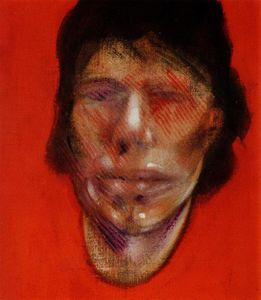 3 Studies for a Portrait of Mick Jagger, right