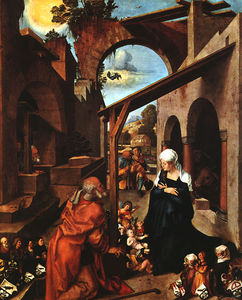Nativity (paumgartner altarpiece, central panel),1504,