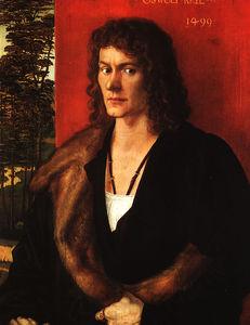 Oswolt krel - merchant of lindau,1499, alte pinakothek,