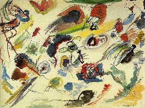 Wassily Kandinsky - First Abstract Watercolor, Collection of Mad