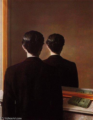 reprodução proibido por Rene Magritte (1898-1967, Belgium ...