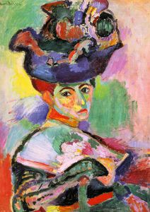 Henri Matisse - Femme au Chapeau (Woman with Hat), oil on canv