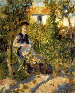 Pierre-Auguste Renoir - Nini in the garden, Philadelphia Museum of A