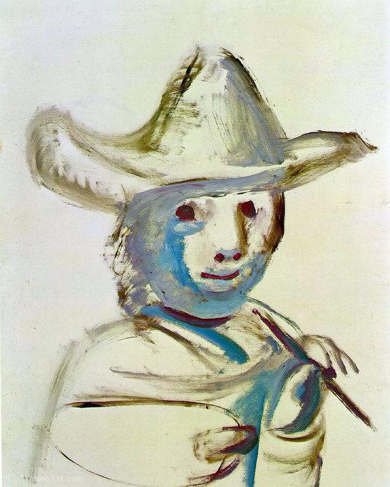 El joven pintor - Pablo Picasso