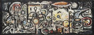 Richard Pousette-Dart - Fugue number