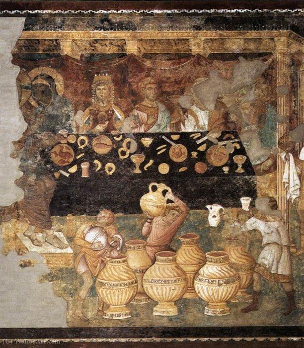 брак в кане галилейской по Jacopo Torriti репродукции известных
