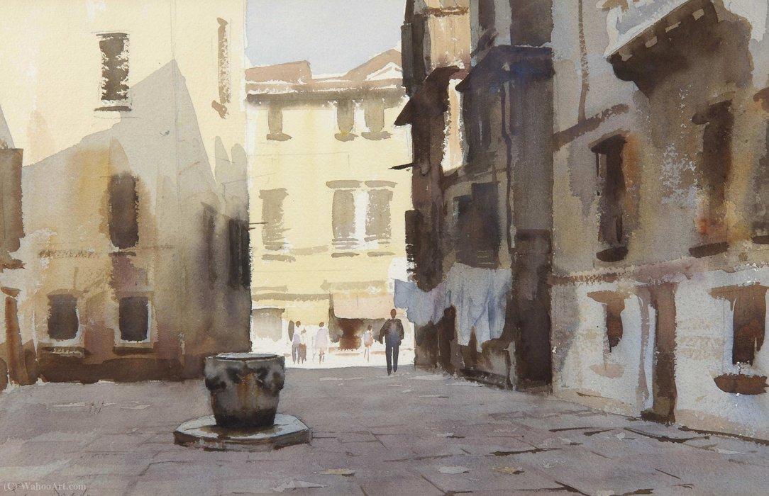 Courtyard Venice By Edward Seago Art Reproductions Edward Seago