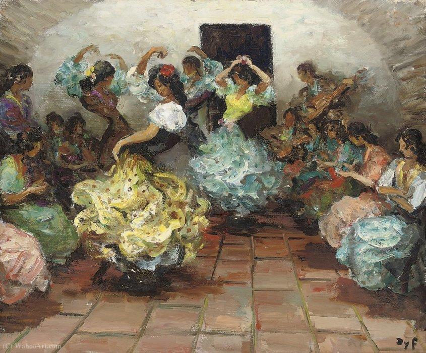 Danseurs De Flamenco 1950 De Marcel Dyf 1899 1985 France