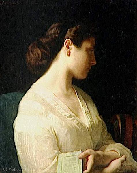 Jeune Grec de Hippolyte Flandrin (1809-1864, France)   Reproductions D'art  De Musée Hippolyte Flandrin   WahooArt.com