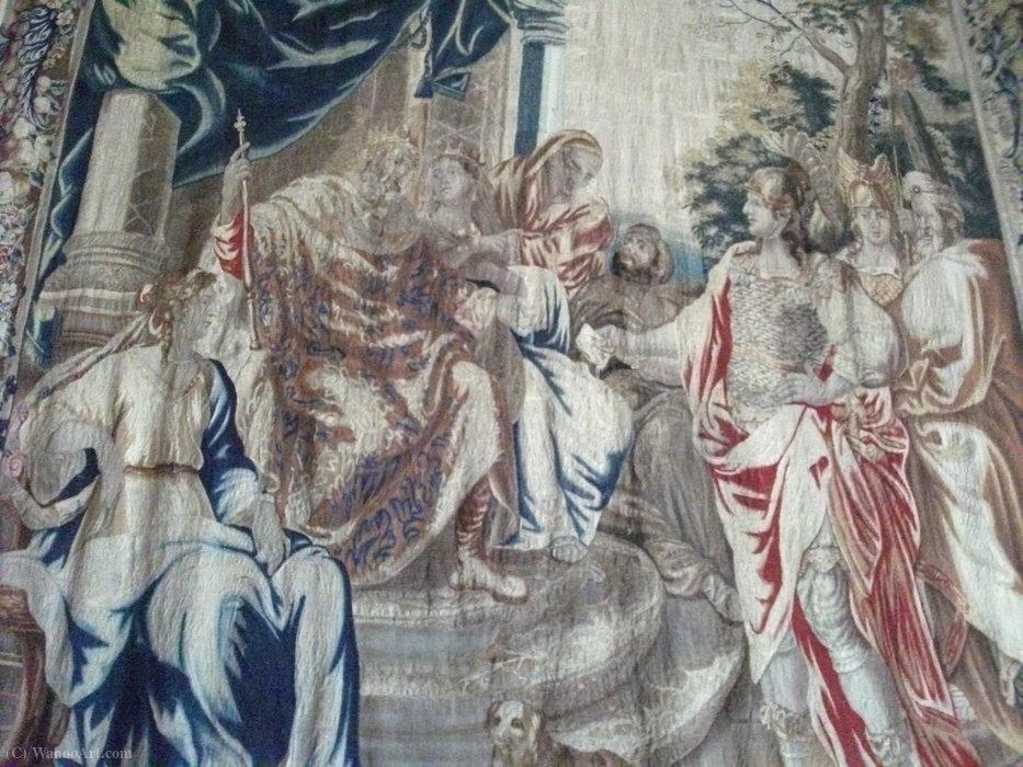Bruxelles Tapisserie En Laine Et Soie De Jean Leclerc 1586