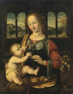 Johann König - Virgin and Child