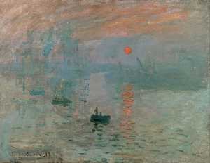 Claude Monet - Impression, Sunrise - (Buy fine Art Reproductions)