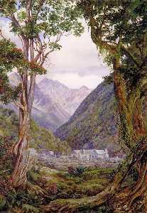Entrance to the Otira Gorge, New Zealand