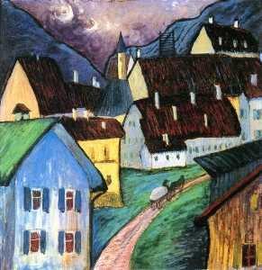 Evening in Murnau