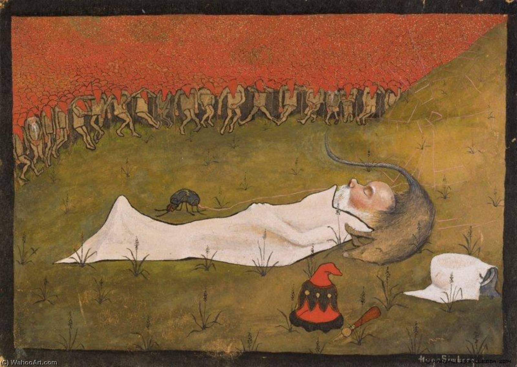 Rey Duende cama , 1896 de Hugo Simberg (1873-1917, Finland ...