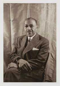 Чарльз S . Джонсон , из портфеля о Написать мое имя Американский Портреты , Гарлем Герои