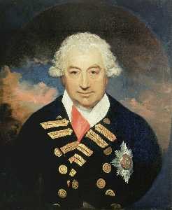 William Beechey - Rear Admiral Sir John Jervis (1735–1823), Earl of St Vincent