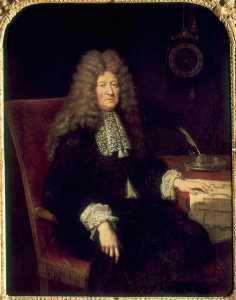Portrait d'Edouard Colbert, marquis de Villacerf (1628 1699), surintendant des Bâtiments du roi