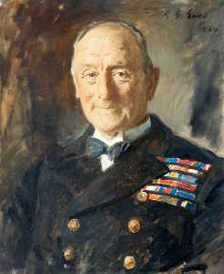 Reginald Grenville Eves - The Admiral of the Fleet John Rushworth Jellicoe (1859–1935), OM, 1st Earl Jellicoe