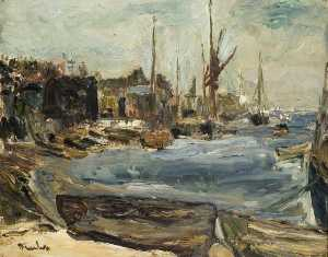 Ronald Ossory Dunlop - The Harbour, Leigh on Sea