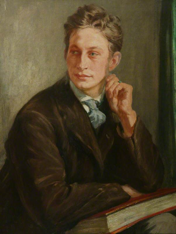 Henry Lamb (1883–1960), 1905 by Francis Dodd (1874-1949, United ...