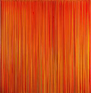 Poured Lines, Light Red, Green, Blue, Yellow, Orange, Yellow, Red