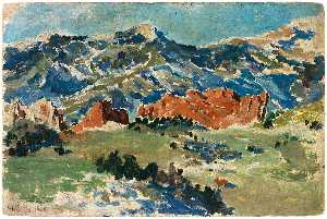 Frank Wilbert Stokes - Garden of the Gods, Colorado