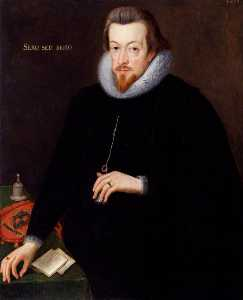 John De Critz The Elder - Robert Cecil, 1st Earl of Salisbury