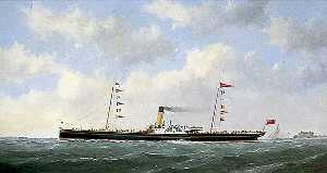 George Mears - The Steamship 'Carrick Castle'