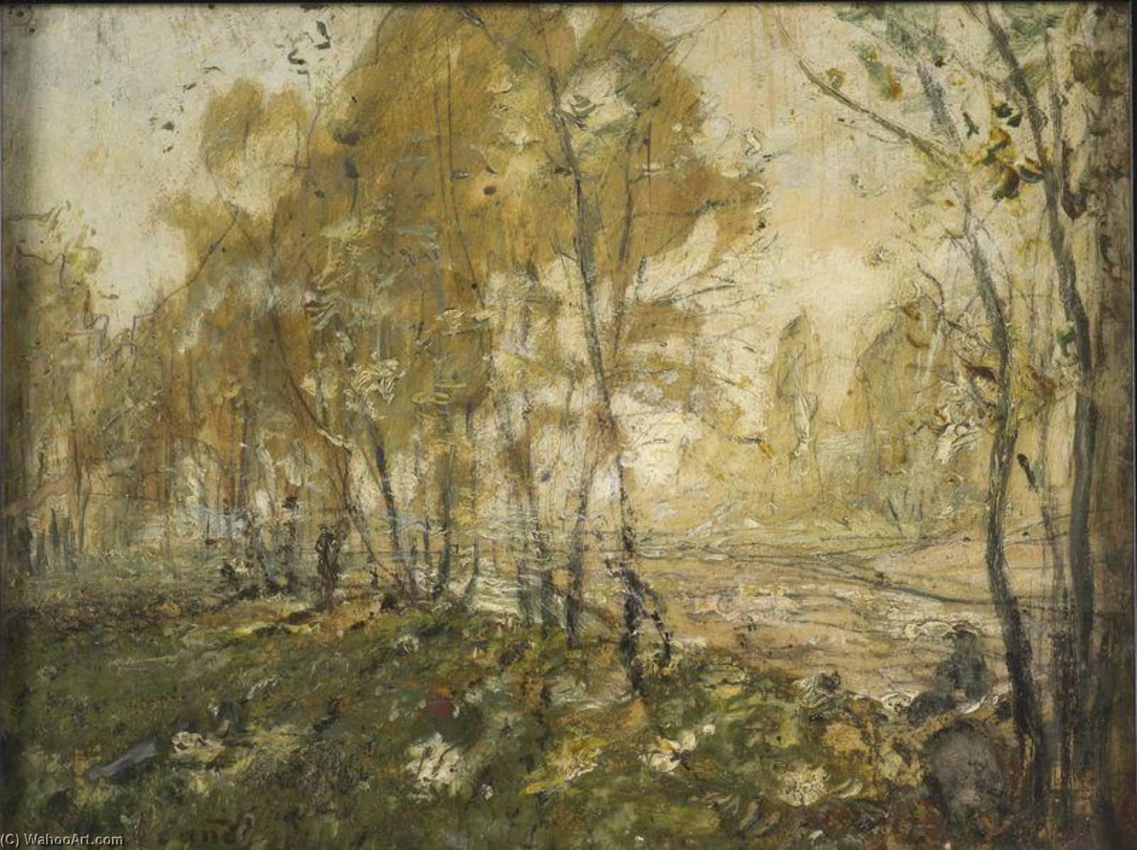 foto de paysage d`automne by Carrand Louis Hilaire (1821-1899)   Museum ...