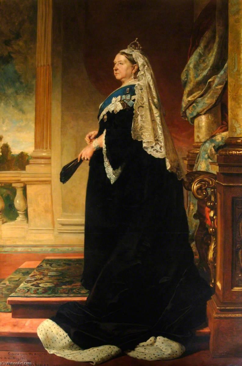 Queen Victoria - Baron Heinrich von Angeli (1840-1925