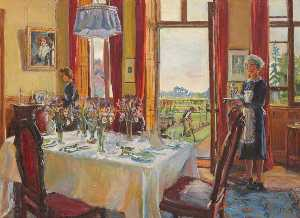 Marie Louise Roosevelt Pierrepont - Thoresby Dining Room