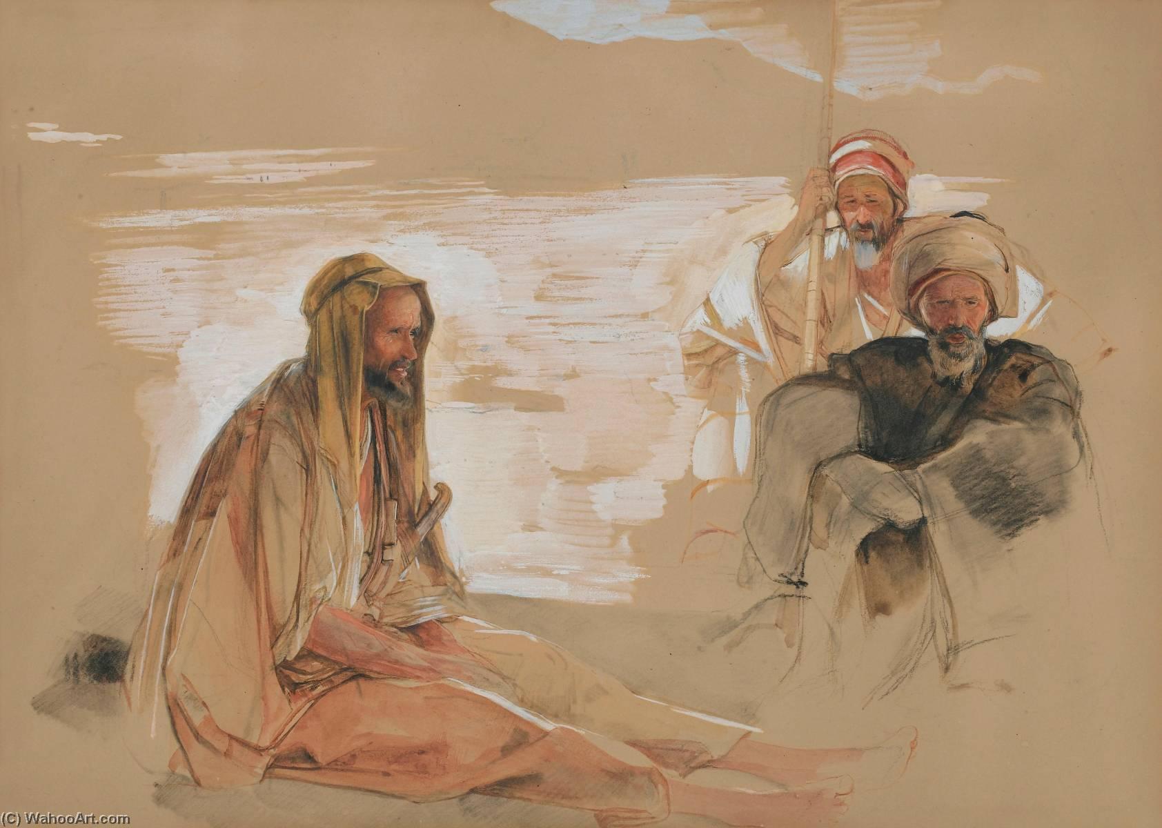 Three arabs