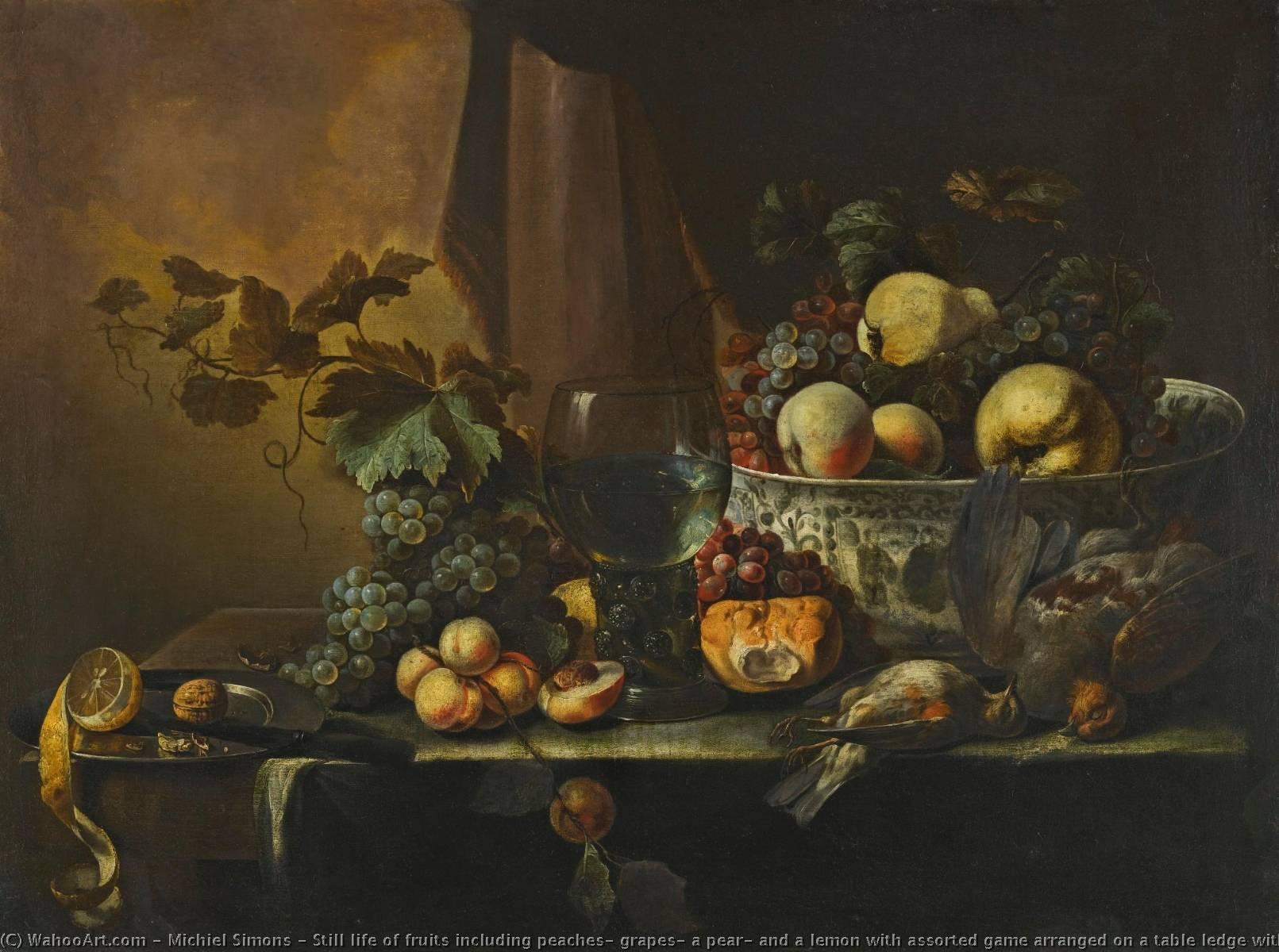 8c9941efe Ainda a vida de frutos incluindo pêssegos