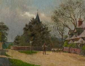 George W Moore Henton - St Mary in the Elms, Woodhouse, Leicestershire