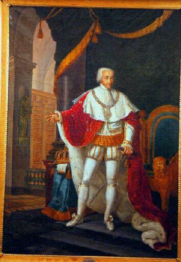 Portrait de victor emmanuel Je , roi de sardaigne de Moreau Pierre ...