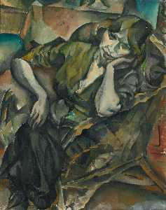 George Kars - Woman in an Armchair