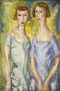 Alfred Henry Maurer - Two Sisters