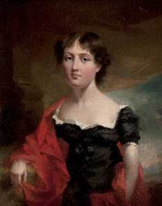John Hayter - Miss Moore Grant (1790s–1828), Youngest Daughter of Anne Grant of Laggan